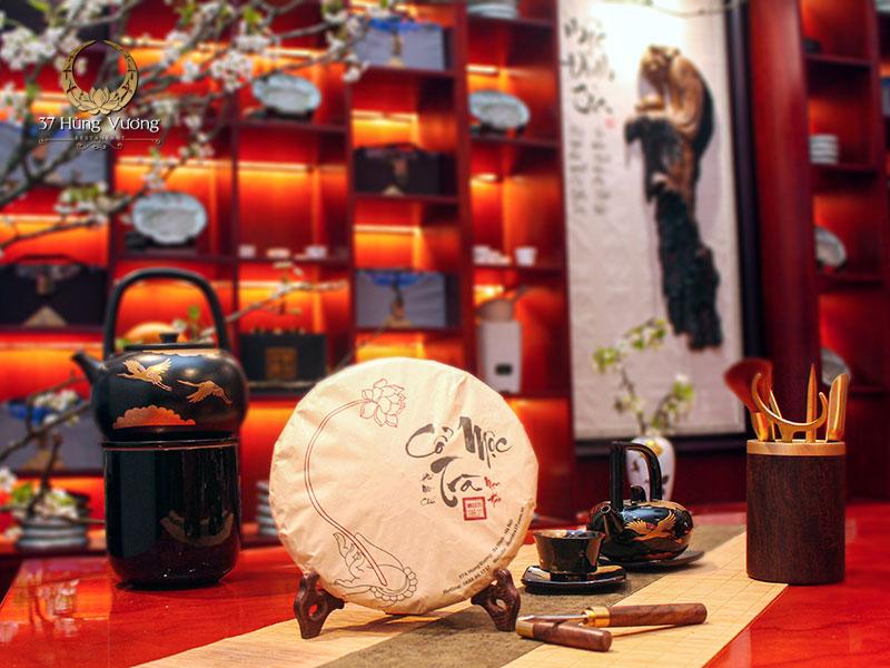 Phẩm Cổ Mộc Trà – Trà Phổ Nhĩ chín tại Không gian văn hóa trà Việt – Điểm trà 37