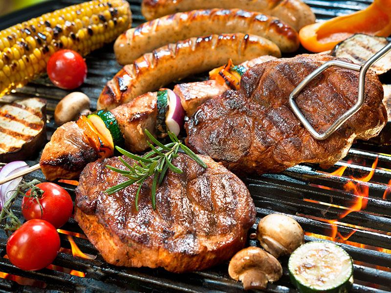 Tiệc nướng BBQ tại nhà